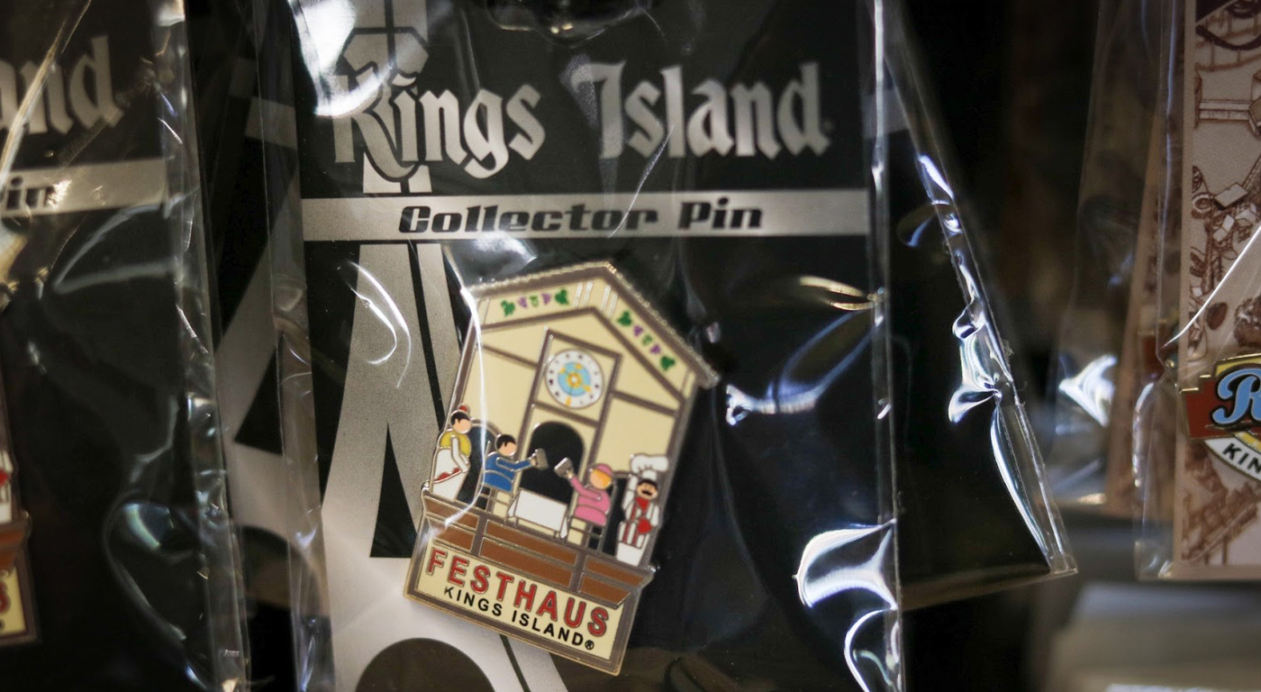 Kings Island 2020 Collectible Pins