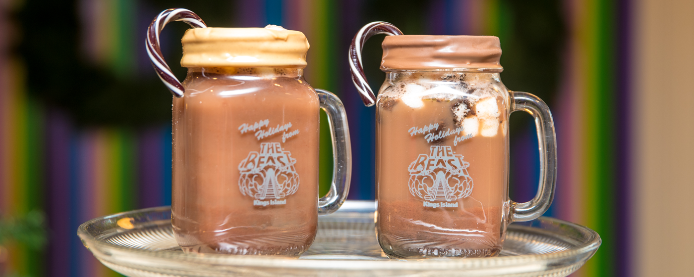 Drinking our gourmet hot chocolate should definitely be on your list of things to do for Christmas!