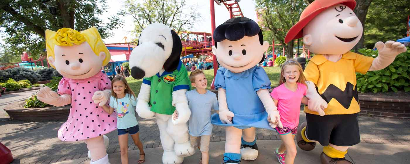 Planet Snoopy Fun For The Whole Family Kings Island