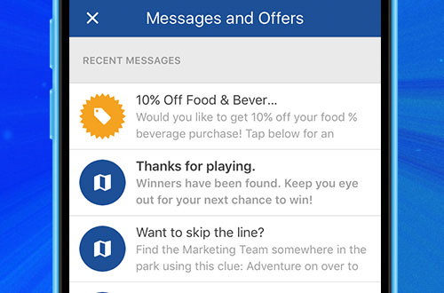 Kings Island Mobile App Special Offers