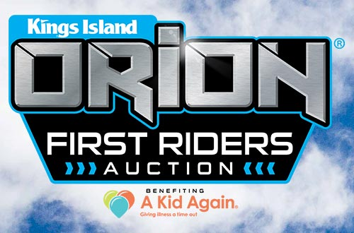 Orion First Riders Auction Logo