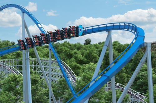 Kings Island Roller Coasters