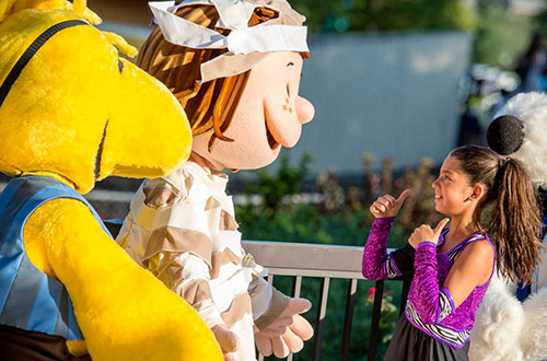 Peppermint Patty's Tall Tales at Kings Island's Halloween Event