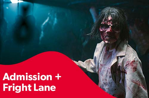 Admission & Fright Lane Combo