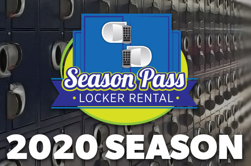 Season Pass Locker Rentals