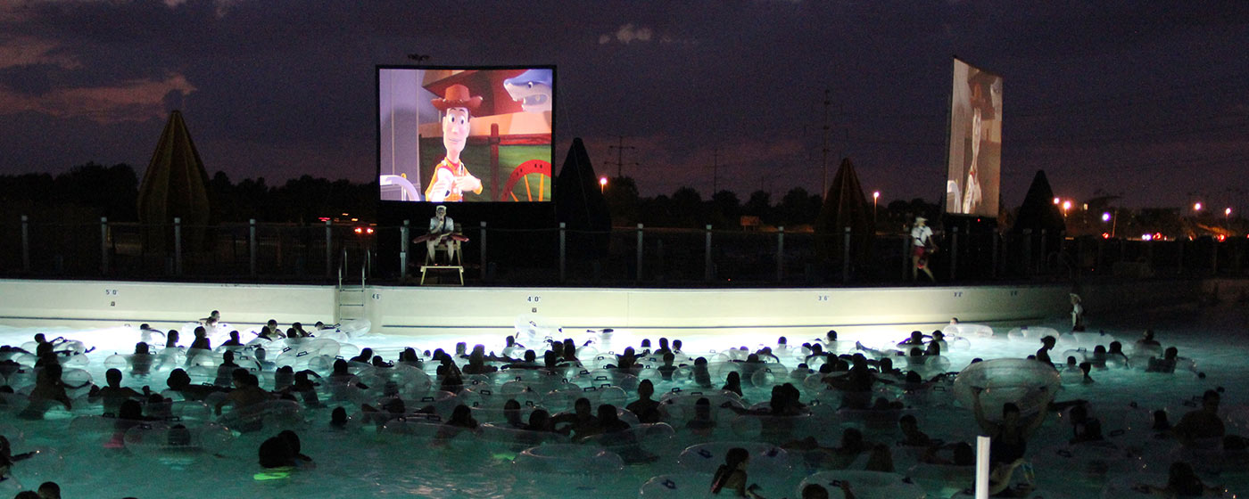 Soak City Dive-In Movies