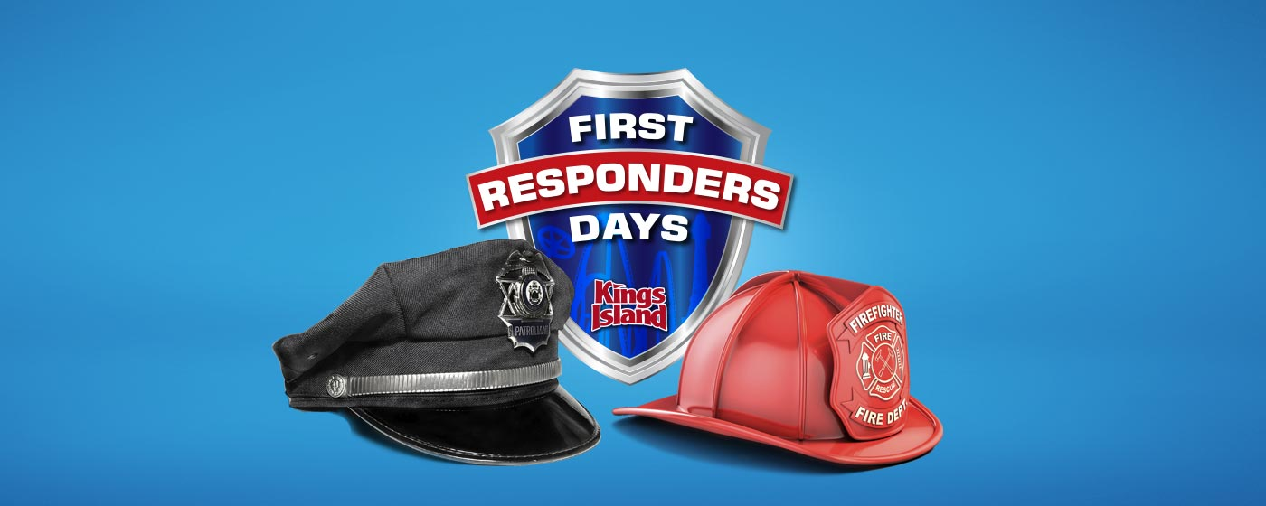 First Responder Appreciation at Kings Island