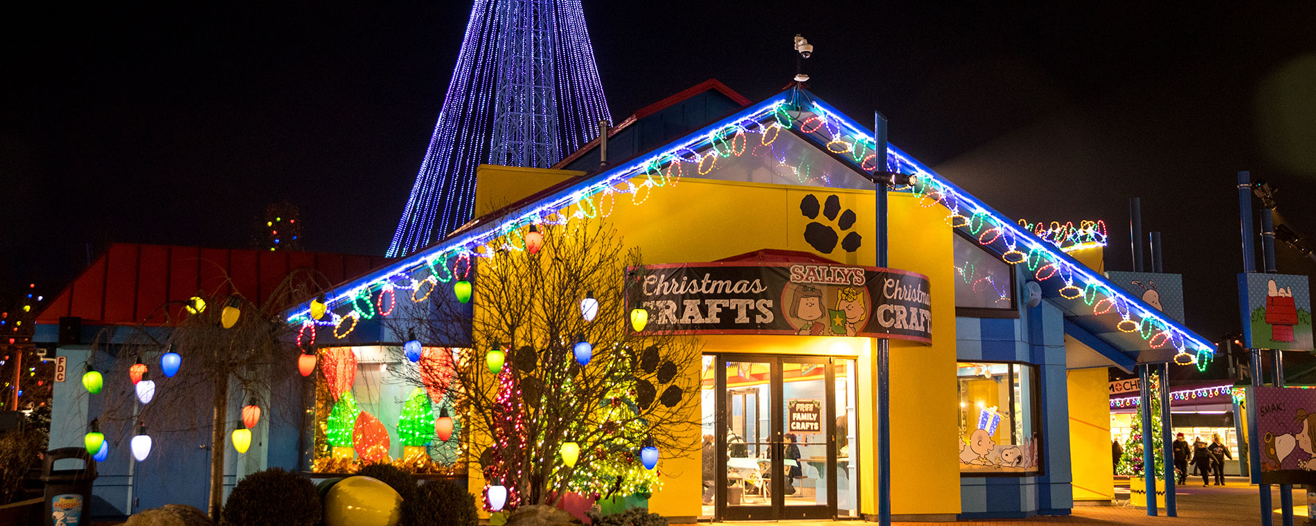 Sally\'s Christmas Crafts | WinterFest Attractions | Kings Island
