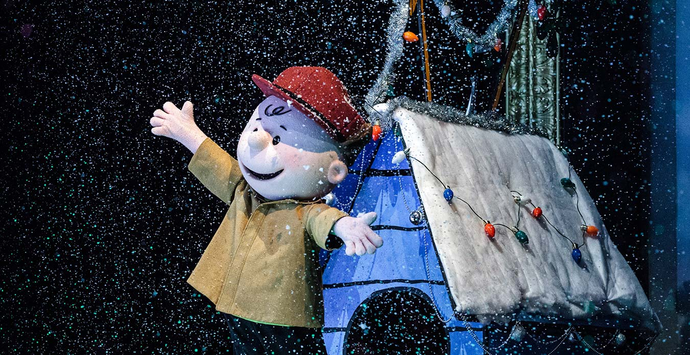 Charlie Brown\'s Christmas Spectacular | WinterFest Show | Kings Dominion
