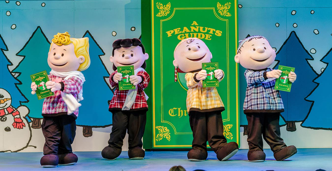A Peanuts Guide to Christmas | WinterFest Attractions | Kings Island