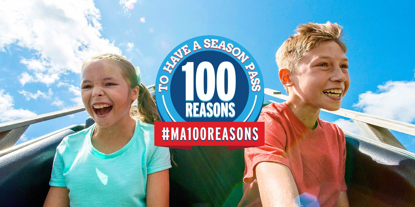 100 Reasons to Have a Season Pass to Michigan's Adventure