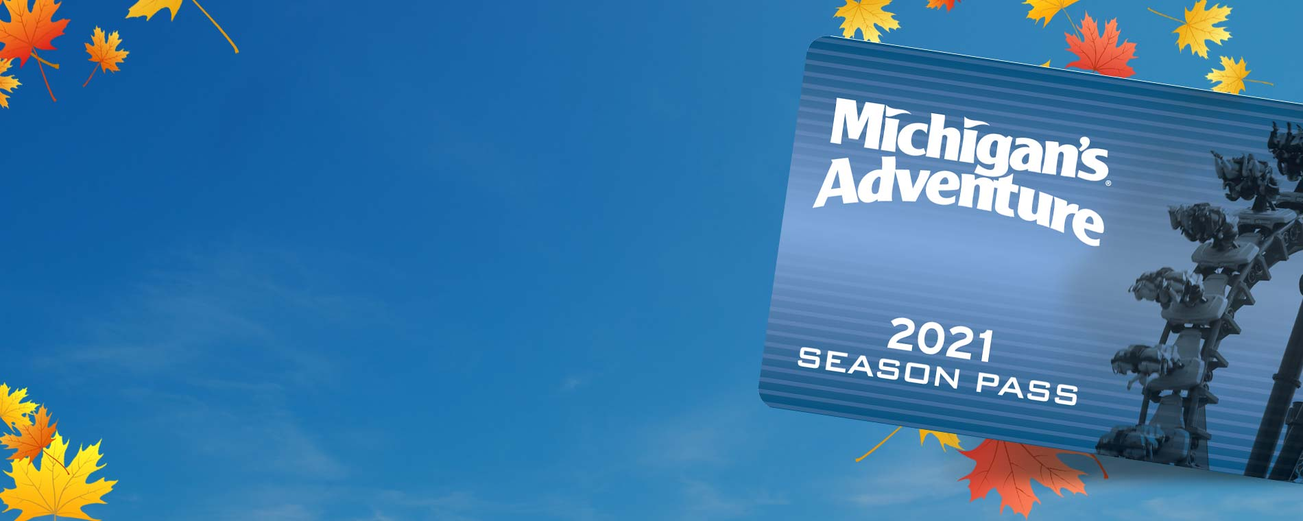 Michigan's Adventure Season Passes