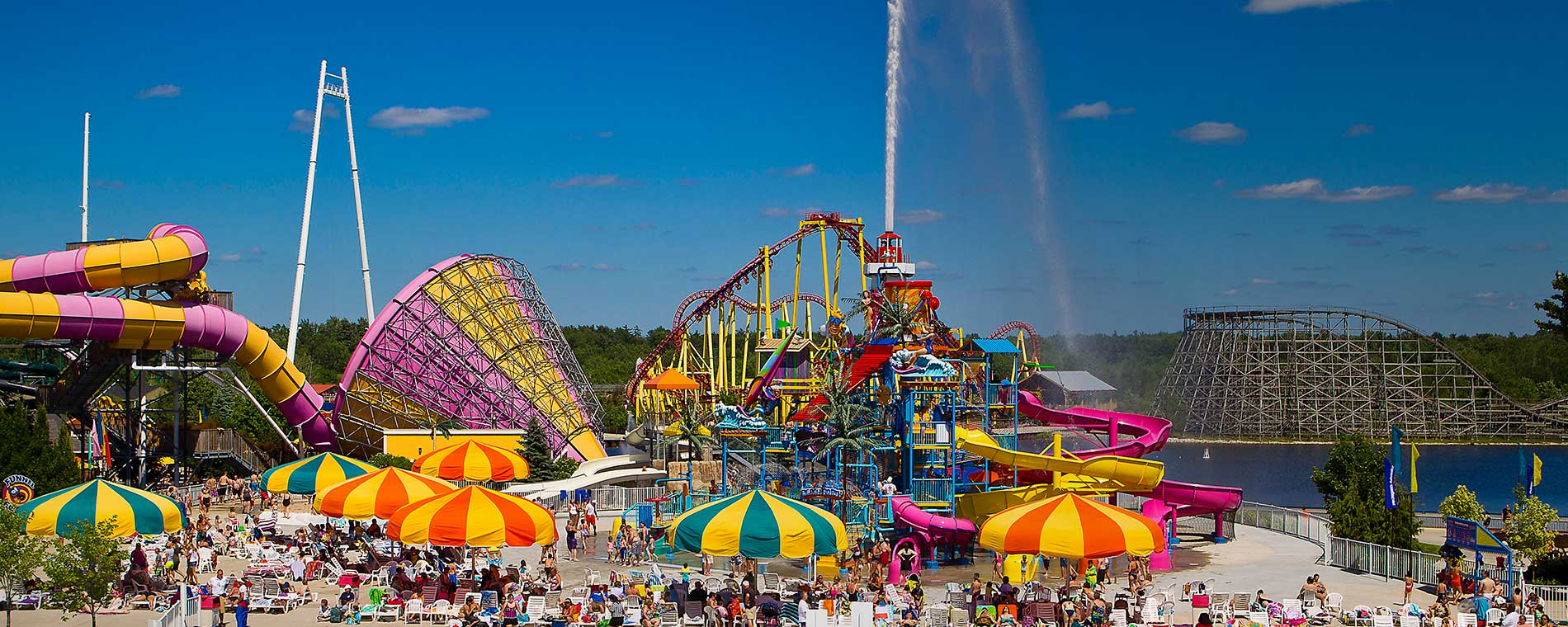 Michigan's Adventure Opening Weekend