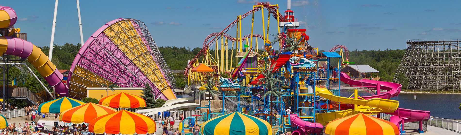 Extreme Water Slides & Attractions at Michigan's Adventure's Water Park