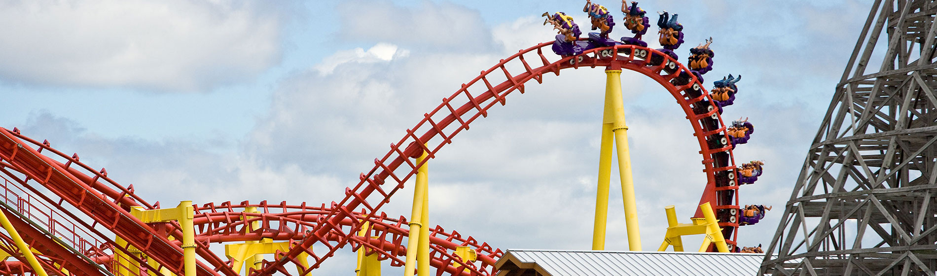 Thunderhawk Roller Coaster at Michigan's Adventure