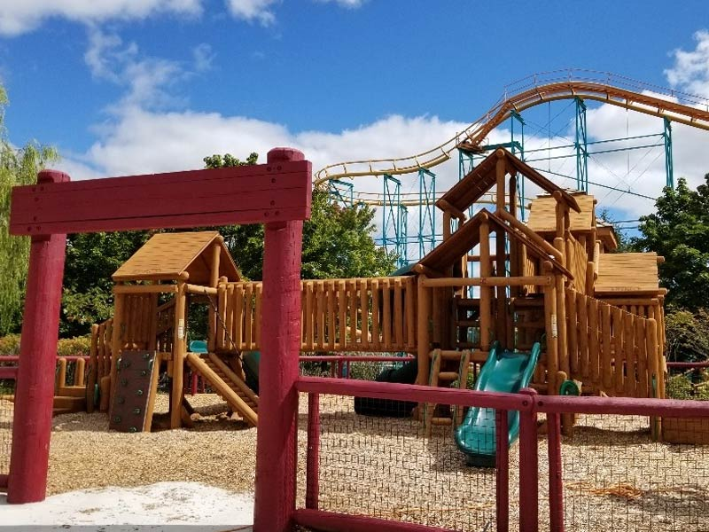 Camp Snoopy's New Kids Play Area at Michigan's Adventure