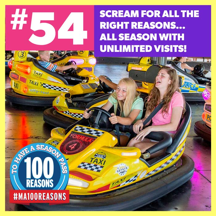 Scream for all the right reasons... All season with unlimited visits!