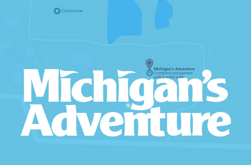 Michigan's Adventure Directions