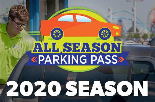 Michigan's Adventure All Season Parking Pass