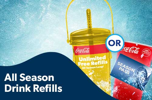 Michigan's Adventure All Season Drink Refills