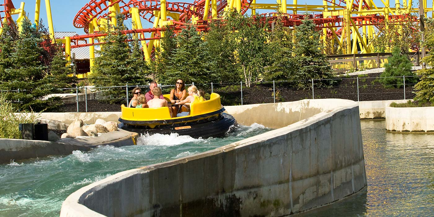 Grand Rapids Giant Raft Ride Michigans Adventure