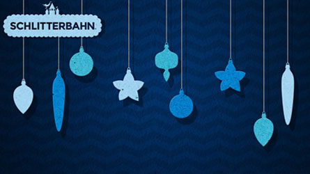Blue Holiday Wallpaper Desktop
