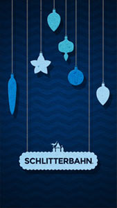 Blue Holiday Wallpaper Mobile