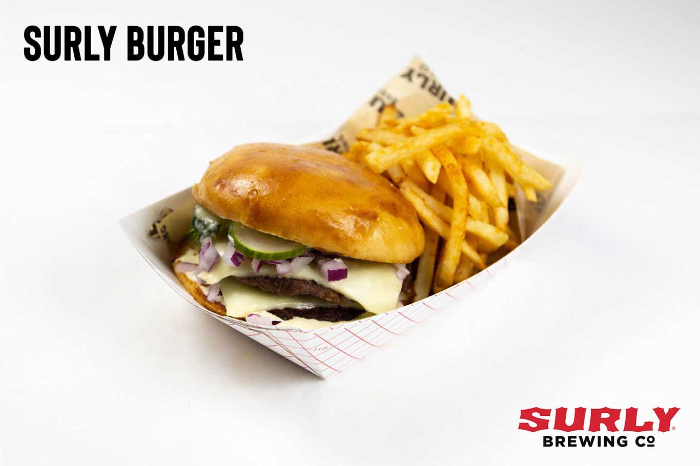 Surly Burger w/ Fries