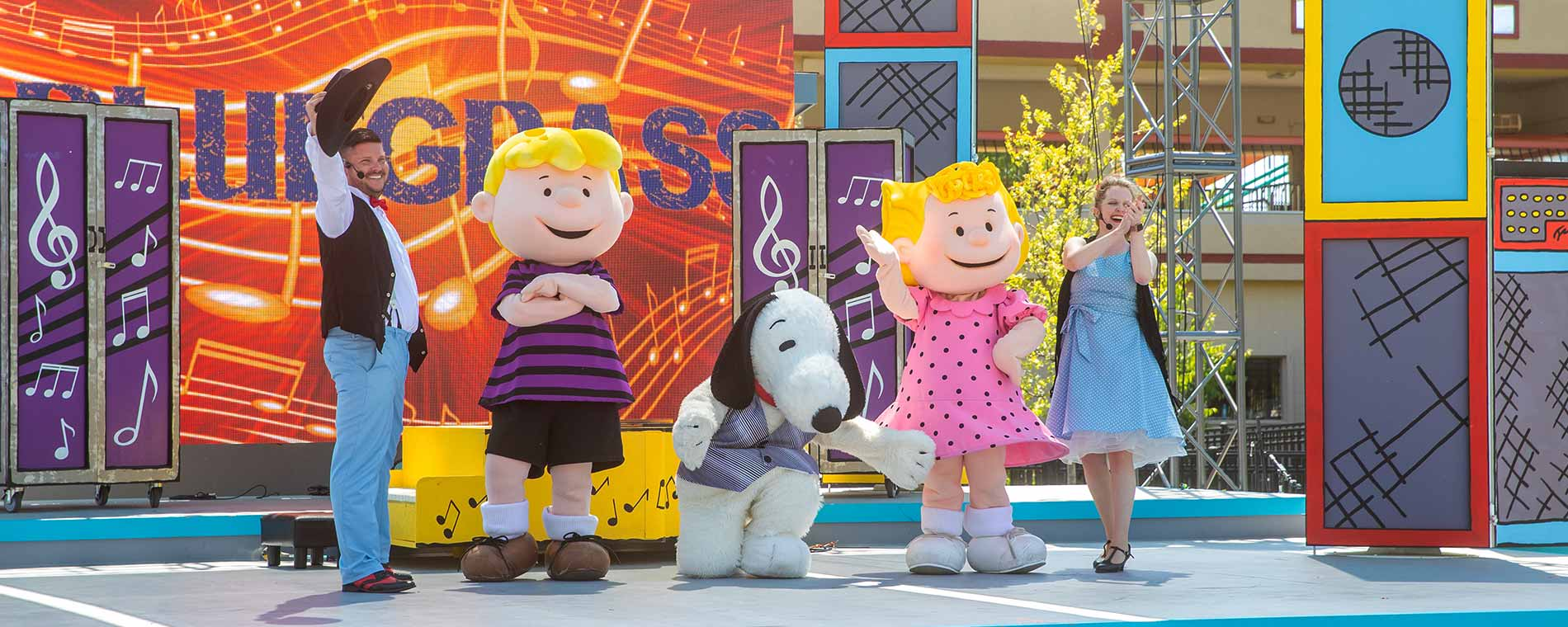 Peanuts Celebration at Valleyfair