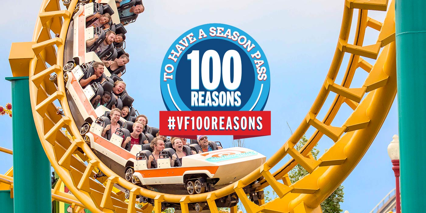 100 Reasons to have a Season Pass to Valleyfair