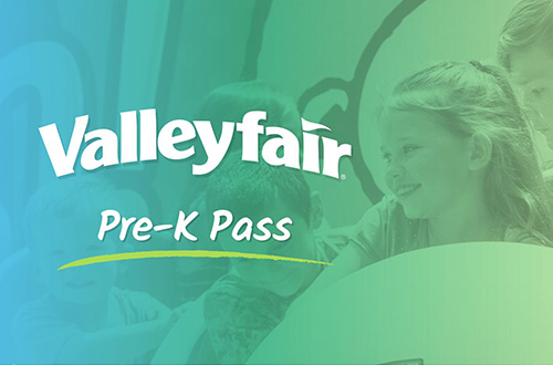 Valleyfair Pre-K Pass