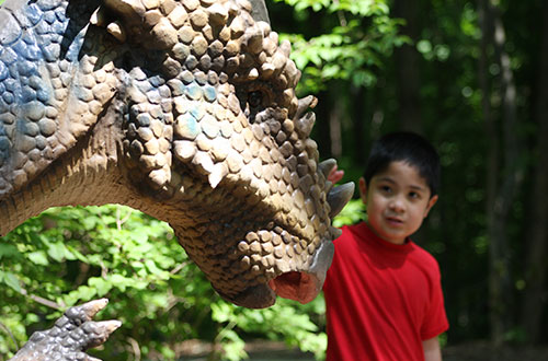 Interactive Experience at Valleyfair's Dinosaurs Alive!