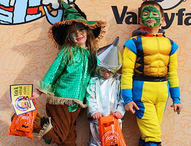 Trick or Treat Street at ValleySCARE's Halloween Event