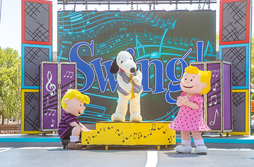 Music Goes 'Round and Around at Valleyfair's Peanuts Celebration