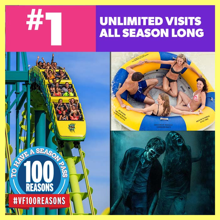 Unlimited Visits All Season Long