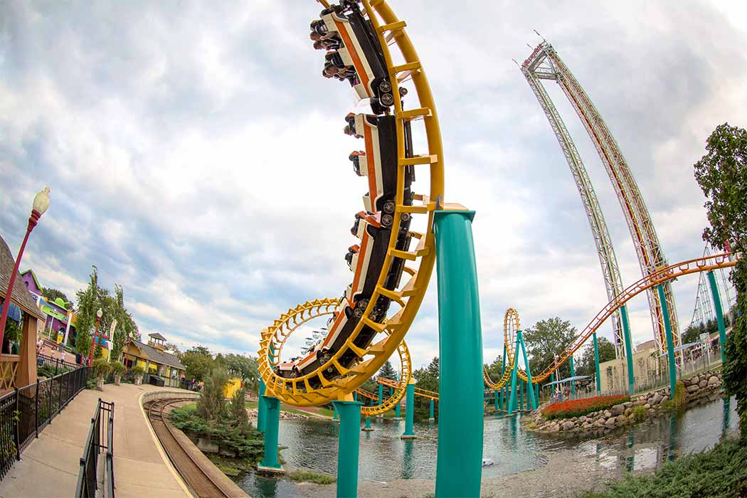 Corkscrew at Valleyfair