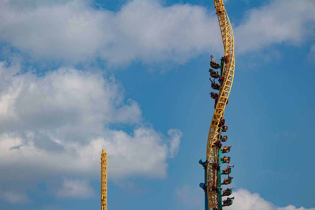 Steel Venom at Valleyfair
