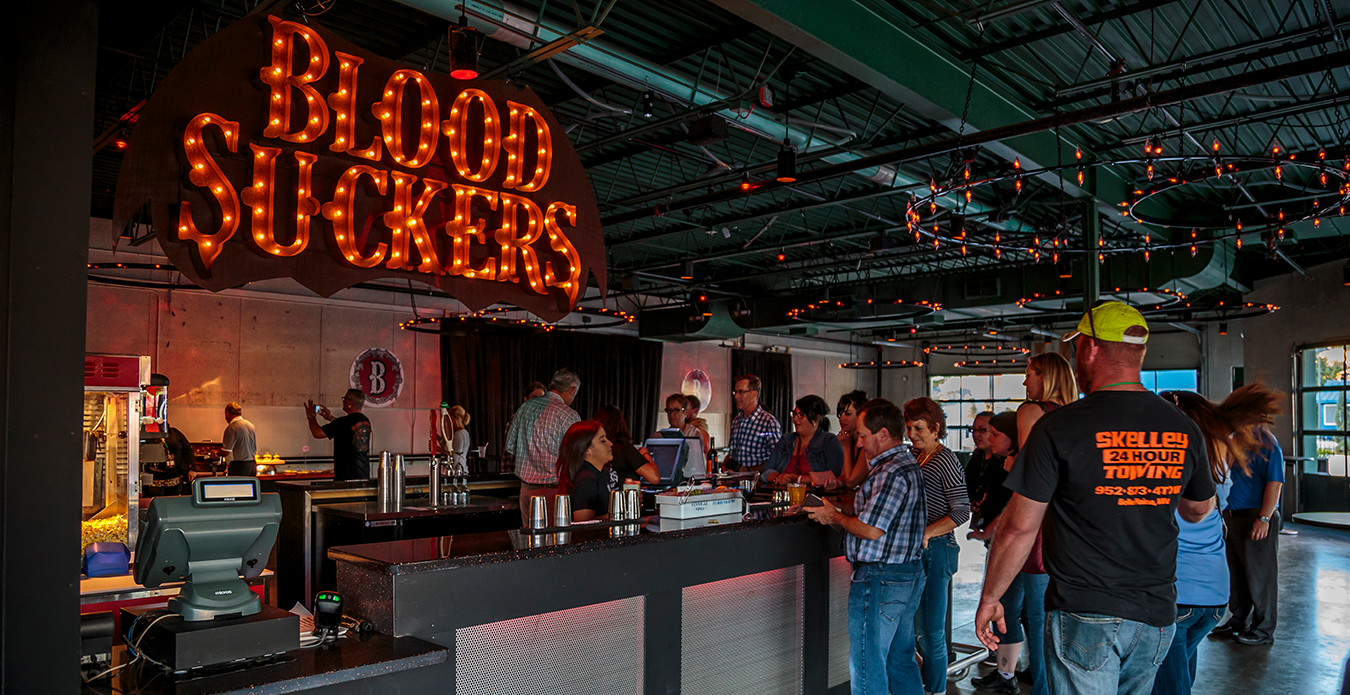 Blood Suckers Brew Bar at ValleySCARE's Halloween Event