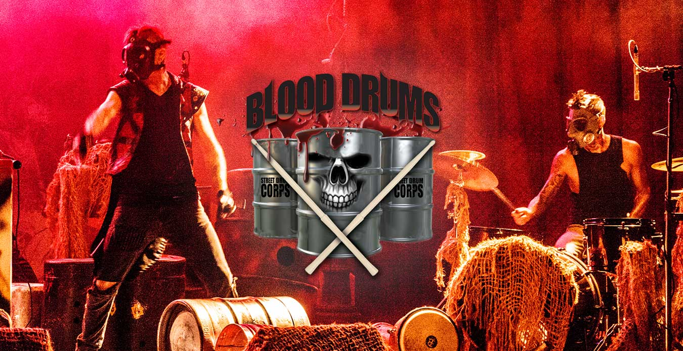 Blood Drums at ValleySCARE's Halloween Event