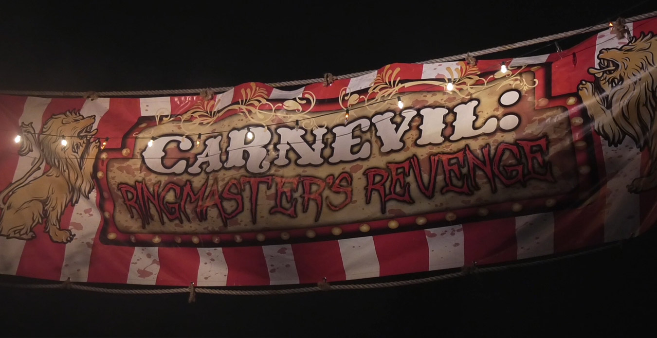 Carnevil: Ringmaster's Revenge at ValleySCARE's Halloween Event