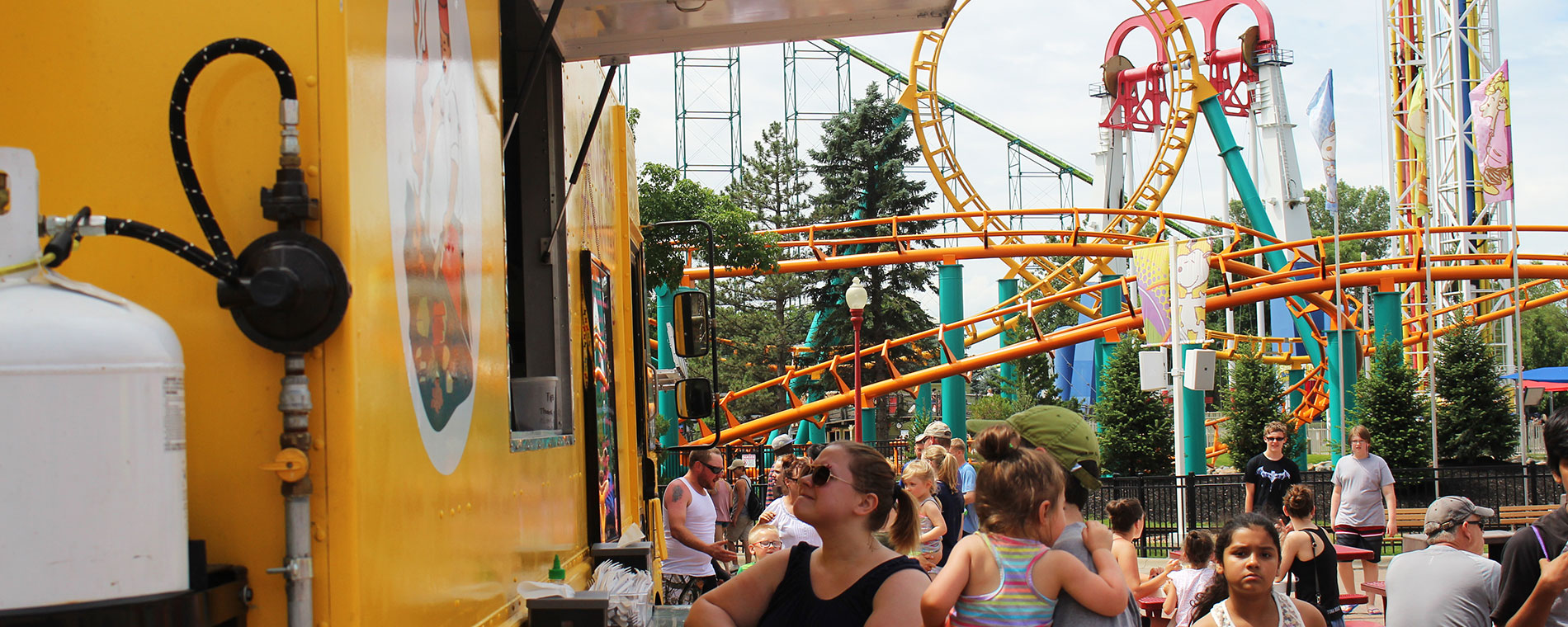 Food Truck Fridays at Valleyfair