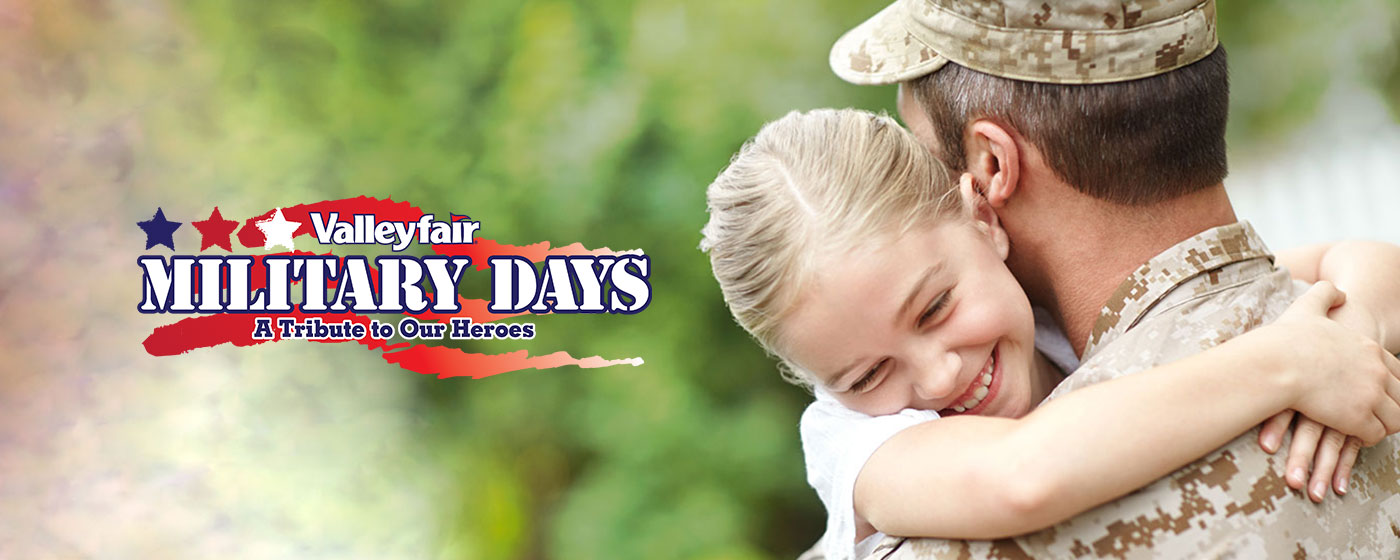 Military Days at Valleyfair