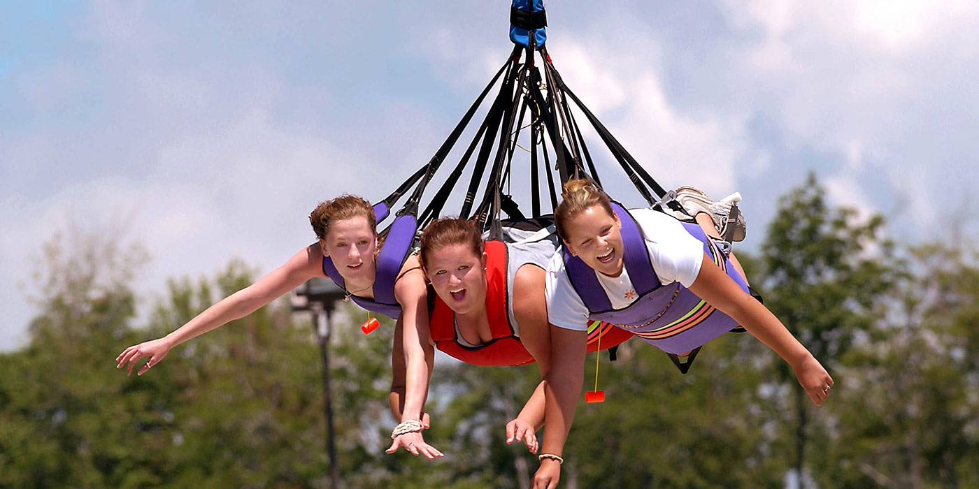 RipCord allows people to experience Bungee Jumping in Minnesota at Valleyfair!