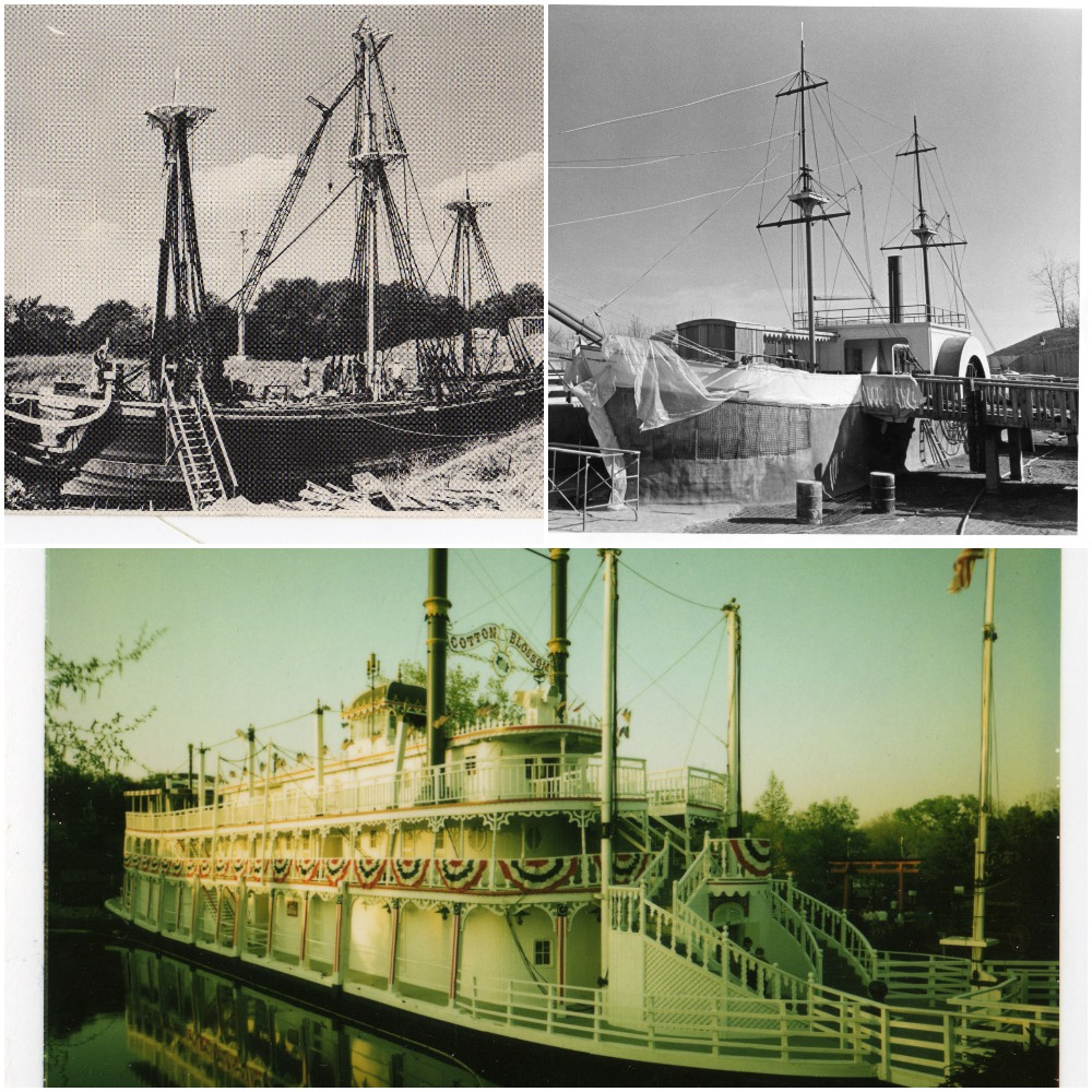 Historic Worlds of Fun Boats