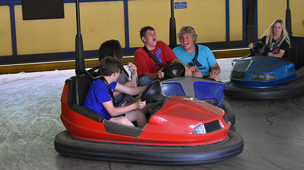 Worlds Of Fun Bumper Cars