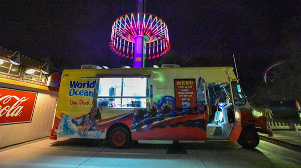 Worlds of Fun Food Truck