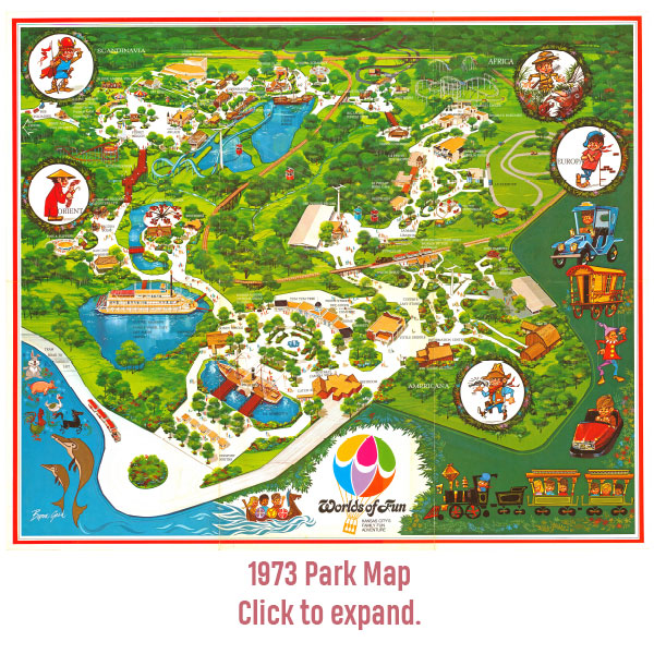 Worlds of Fun Grand Opening 1973: 10 Fun Facts - Worlds of Fun on cedar point park map, cowabunga bay las vegas park map, parc astérix park map, magic waters park map, michigan's adventure park map, los angeles park map, gilroy gardens park map, wild river country park map, waterworks park map, wildwater kingdom park map, story land park map, summer waves park map, walibi holland park map, nagashima spa land park map, liseberg park map, idlewild and soak zone park map, halloween park map, lake winnepesaukah park map, quassy park map, camelbeach park map,