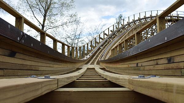 Timber Wolf Reborn - Worlds of Fun