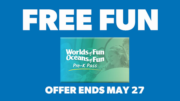 Worlds of Fun PreK Pass