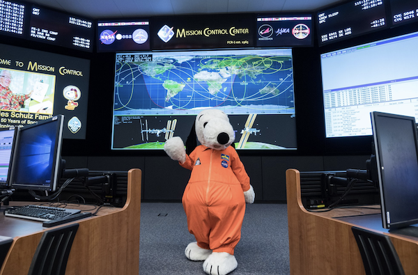 Snoopy and Nasa
